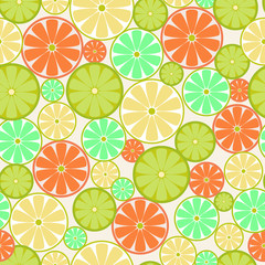 Citrus Seamless - Illustration