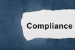 compliance with white paper tears