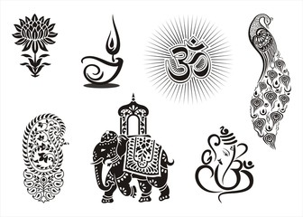 Icons, Hinduism ,cultural heritage , India , Asia