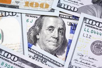 Benjamin Franklin on the one hundred dollar bill