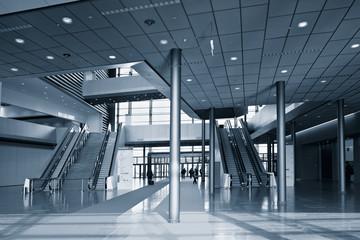 Foyer einer Messehalle
