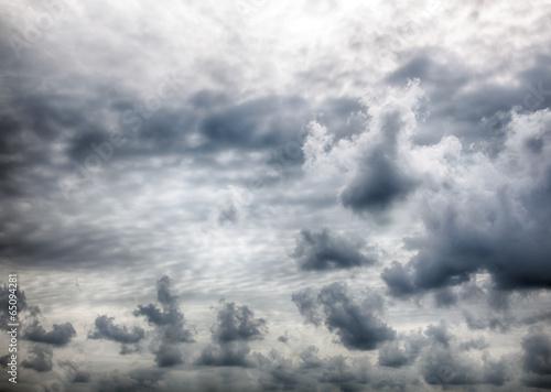 Obraz na Plexi Dramatic stormy clouds.