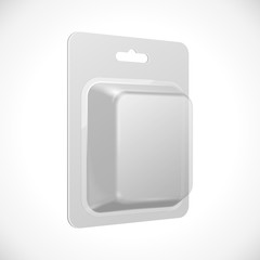 White Product Package Blister Pack Box