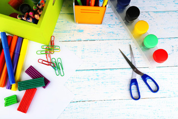 Composition of various creative tools