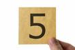 数字 5 アイコン number five