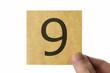 数字 9 アイコン number nine