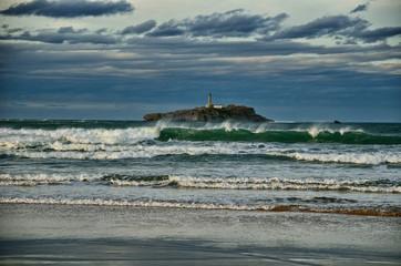 Santander lighthouse, Spain