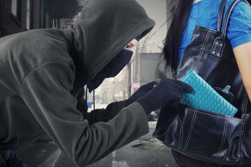 A street thief