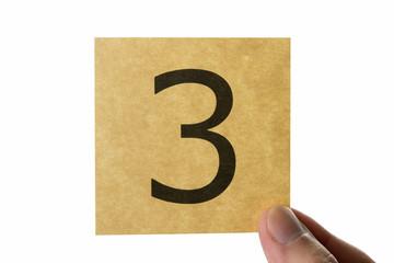 数字 3 アイコン number three