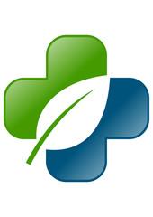icon medicine leaf