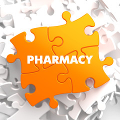 Pharmacy on Orange Puzzle.