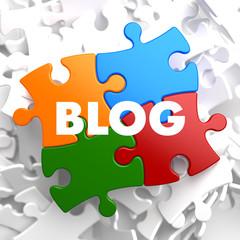 Blog - Multicolor Puzzle on White.