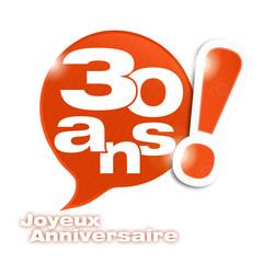 bulle mosaïque : anniversaire 30 ans (cs5)