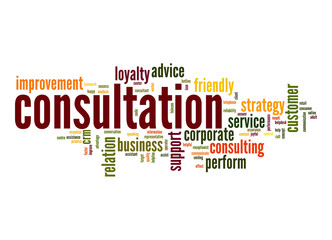Consultation word cloud