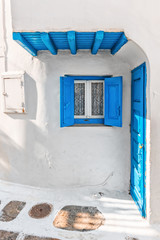 Tiny typical house in Mykonos