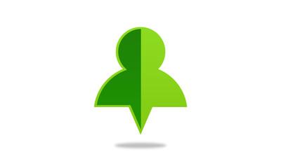people pin logo