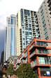 Apartment buildings in City