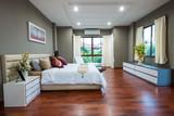 Fototapety Modern bedroom interior
