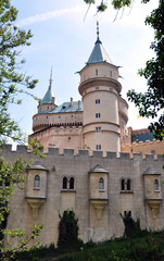 castle and park Bojnice, Slovakia, Europe