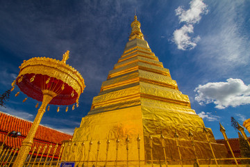 Wat Phra That Cho Hae Temple, Phare, Thailand