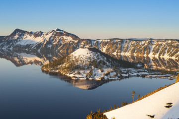 Crater Lake, Oregon, USA