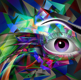 Fototapety яркий абстрактный  музыкальный фон