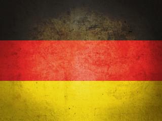 German vintage flag