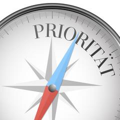 Kompass Priorität