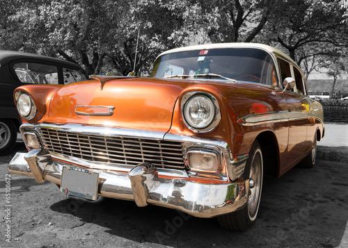 Foto op Aluminium Vintage cars Car