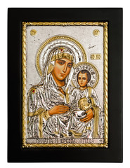 Gold icon of Virgin Mary