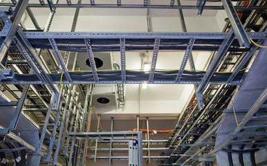 Cable Trays at Electricity Room