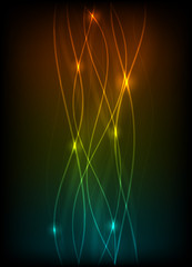 Blurry abstract light effect background