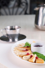 Rolled pancake