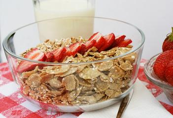 cereals with milk