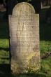 Grabsteine an der Kirche in Reelkirchen
