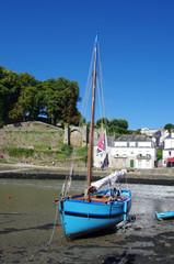 Bateau de pêche en Bretagne
