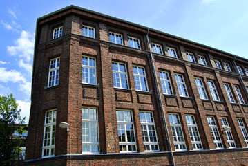 Solingen NRW Altbau Fassade Fabrik