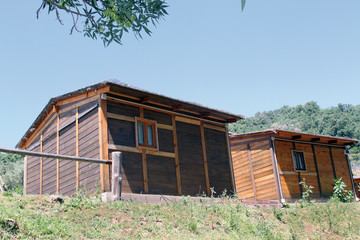 Cabaña de campamento, Aldea Juglar, Barrado, España