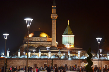 Mevlana Museum and Green Dome