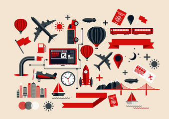Creative Transport Elements