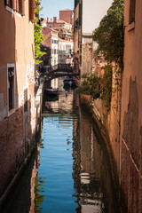 Channels and bridges, Venice, Italy