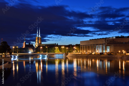 Cathedral od St. John th Baptist in Wroclaw, Poland - 65121633