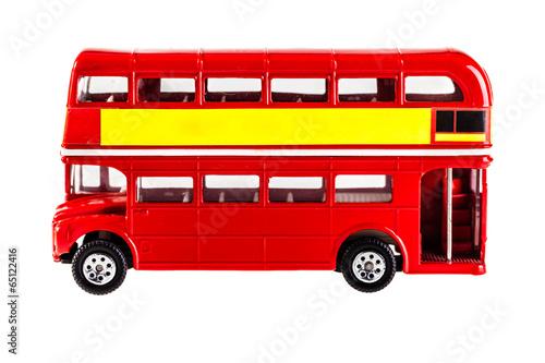 Poster London bus model