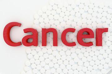 Cancer - 3d Rendering