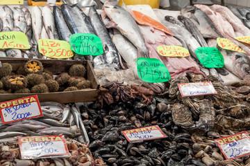 Fish market, Chile