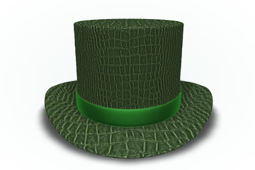 Alligator Top Hat