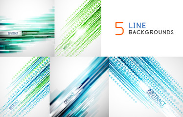 Mega collection of straight line backgrounds