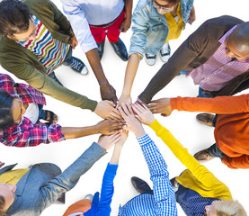 Group of Multiethnic Diverse People Teamwork