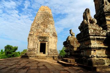 Ruin of Angkor Temple in Cambodia