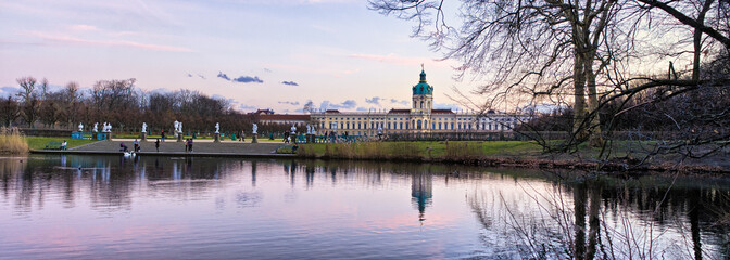 Charlottenburg palace in Berlin, Germany